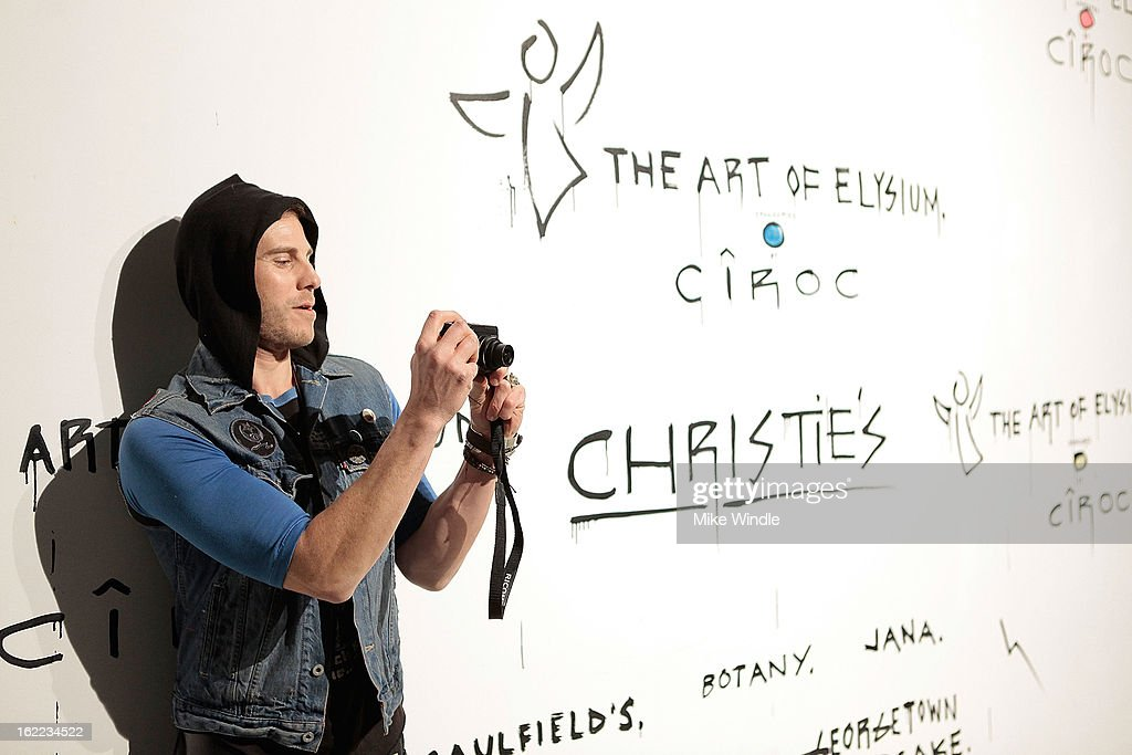 Artist Gregory Siff attends The Art Of Elysium's 6th annual 'Pieces Of Heaven' powered by Ciroc Ultra Premium Vodka at Ace Museum on February 20, 2013 in Los Angeles, California.