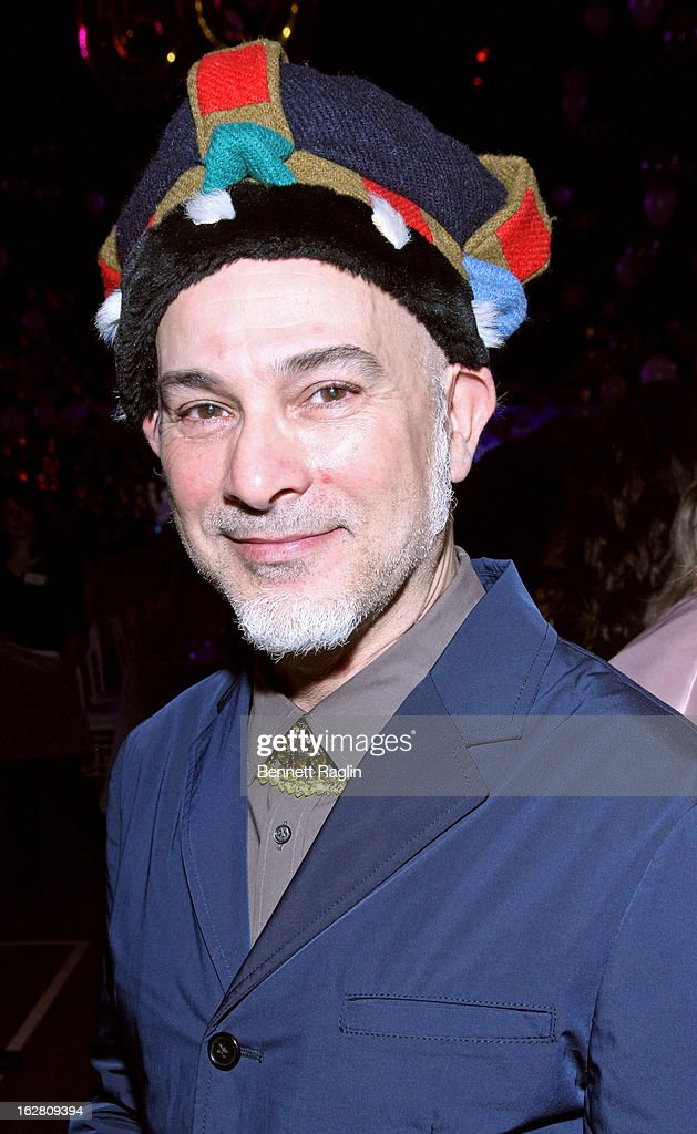 Artist Izhar Patkin attends the 2013 Jewish Museum Purim Ball at Park Avenue Armory on February 27, 2013 in New York City.