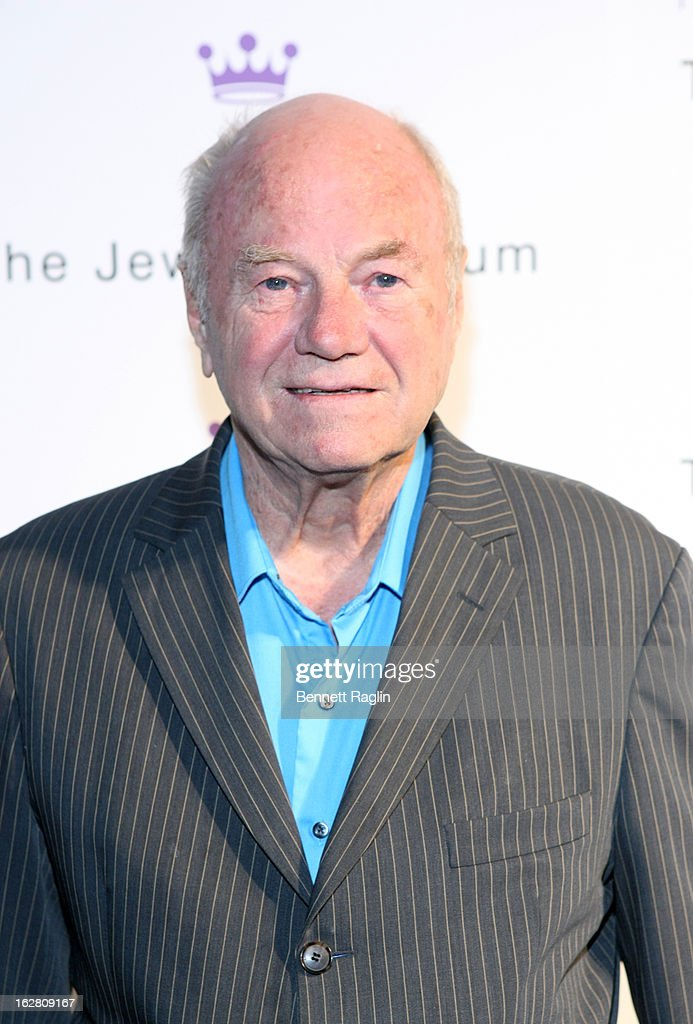 Artist James Rosenquist attends the 2013 Jewish Museum Purim Ball at Park Avenue Armory on February 27, 2013 in New York City.