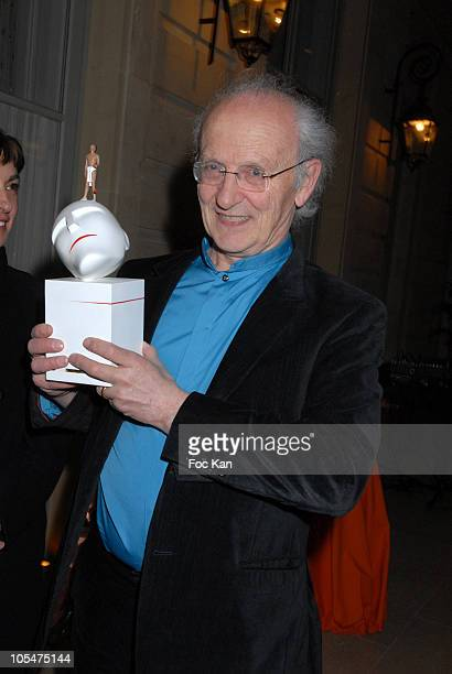 Artist Jean Giraud attends The Davids Contemporary Arts Awards 2008 Ceremony at the Axa Building on April 16 2008 in Paris France