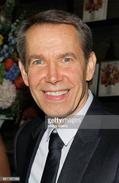 Artist Jeff Koons attends Jeff Koons A Retrospective at The Whitney Museum of American Art on June 24 2014 in New York City