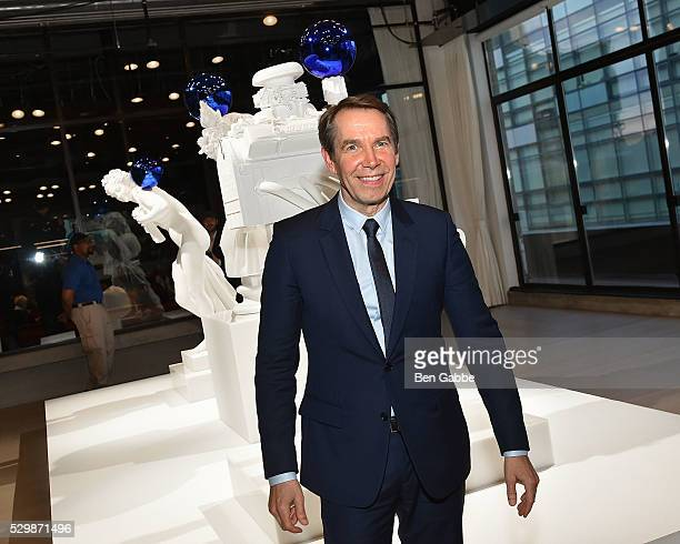 Artist Jeff Koons attends the Jeff Koons x Google launch on May 09 2016 in New York New York