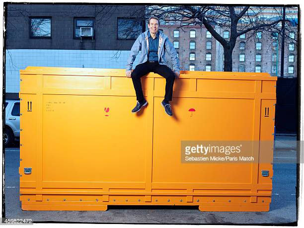 Artist Jeff Koons is photographed for Paris Match on November 14 2014 in New York City