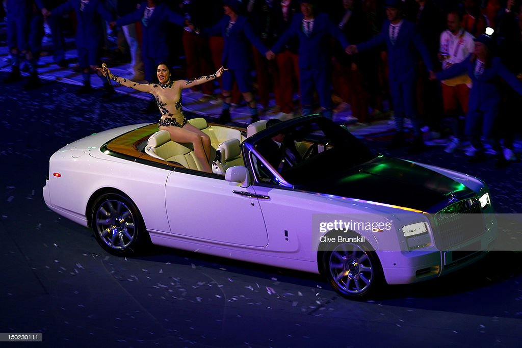 Artist <a gi-track='captionPersonalityLinkClicked' href=/galleries/search?phrase=Jessie+J&family=editorial&specificpeople=5737661 ng-click='$event.stopPropagation()'>Jessie J</a> performs during the Closing Ceremony on Day 16 of the London 2012 Olympic Games at Olympic Stadium on August 12, 2012 in London, England.