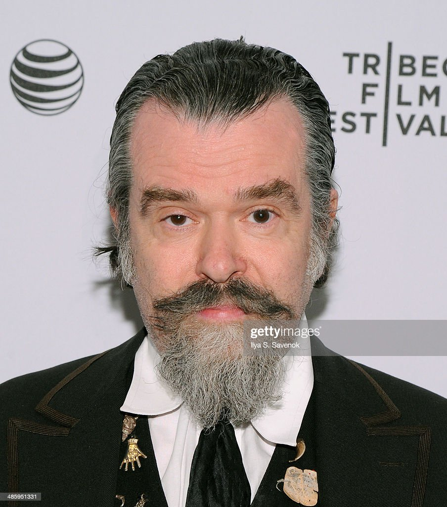 Artist Joe Coleman attends the 'Vara: Blessing' Premiere during the 2014 Tribeca Film Festival at Chelsea Bow Tie Cinemas on April 21, 2014 in New York City.