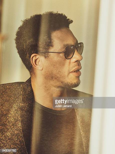 Artist JoeyStarr is photographed for Self Assignment on June 11 2016 in Cabourg France
