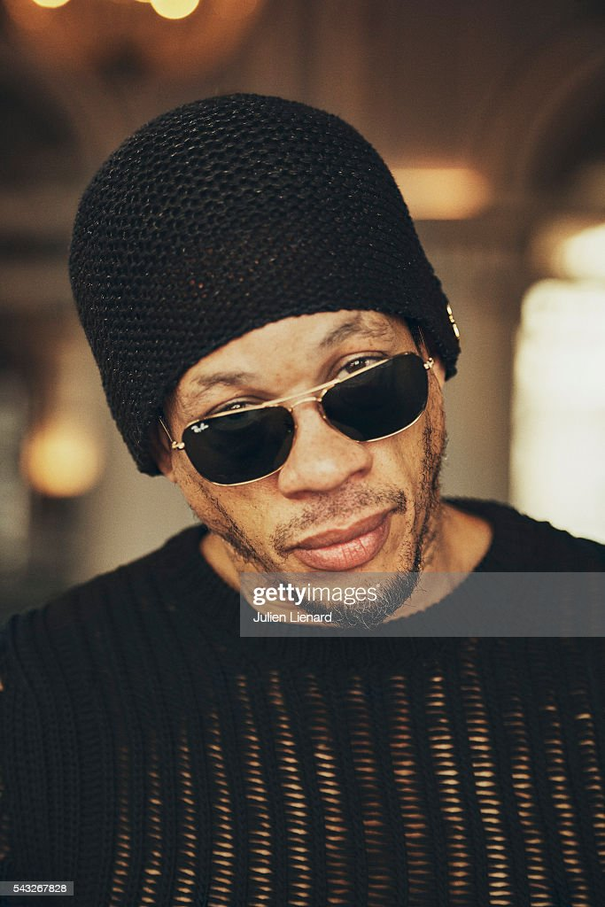 Artist JoeyStarr is photographed for Self Assignment on June 11, 2016 in Cabourg, France.