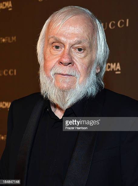 Artist John Baldessari arrives at LACMA 2012 Art Film Gala Honoring Ed Ruscha and Stanley Kubrick presented by Gucci at LACMA on October 27 2012 in...
