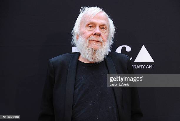 Artist John Baldessari attends the 2016 MOCA Gala at The Geffen Contemporary at MOCA on May 14 2016 in Los Angeles California