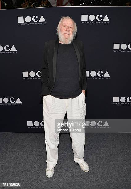 Artist John Baldessari attends the MOCA Gala 2016 at The Geffen Contemporary at MOCA on May 14 2016 in Los Angeles California