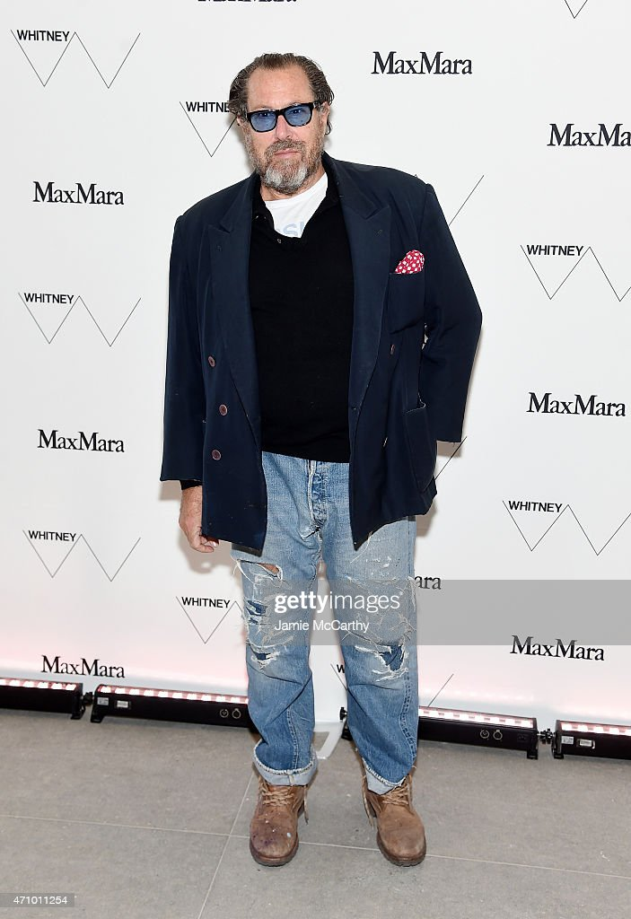 Artist Julian Schnabel attends the Max Mara celebration of the opening of The Whitney Museum Of American Art at its new location on April 24, 2015 in New York City.