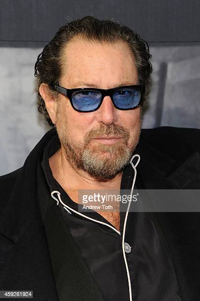 Artist Julian Schnabel attends The Whitney Museum Of American Art's 2014 Gala Studio Party at The Whitney Museum of American Art on November 19 2014...
