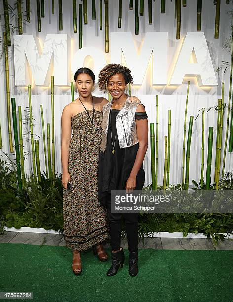 Artist Kara Walker attends Museum Of Modern Art's 2015 Party In The Garden Arrivals at Museum of Modern Art on June 2 2015 in New York City