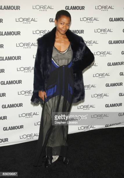 Artist Kara Walker attends the 2008 Glamour Women of the Year Awards at Carnegie Hall on November 10 2008 in New York City
