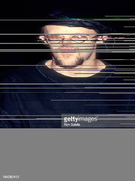 Artist Keith Haring attends the Press Conference to Announce Jennifer Muller/The Works Dance Troupe New York Season @ Joyce Theatre Apr2126 on...