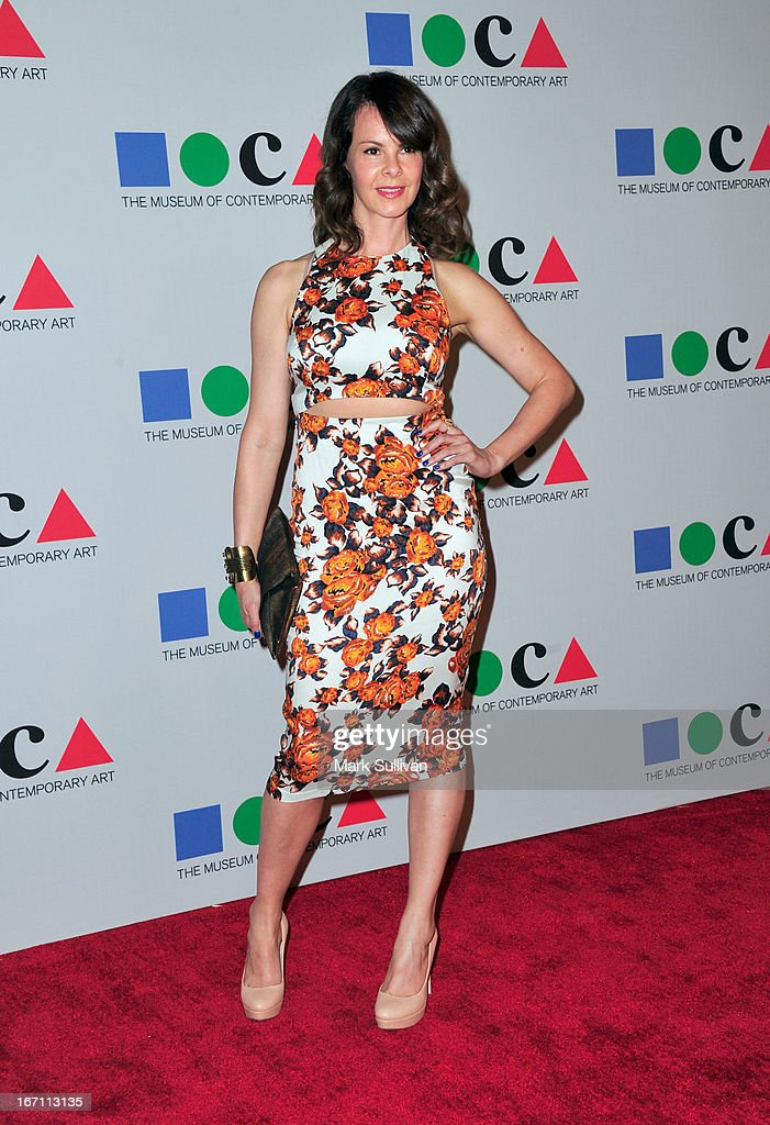 Artist Kelly Lamb arrives for 'Yesssss!' 2013 MOCA Gala, Celebrating The Opening Of The Exhibition Urs Fischer at MOCA Grand Avenue on April 20, 2013 in Los Angeles, California.