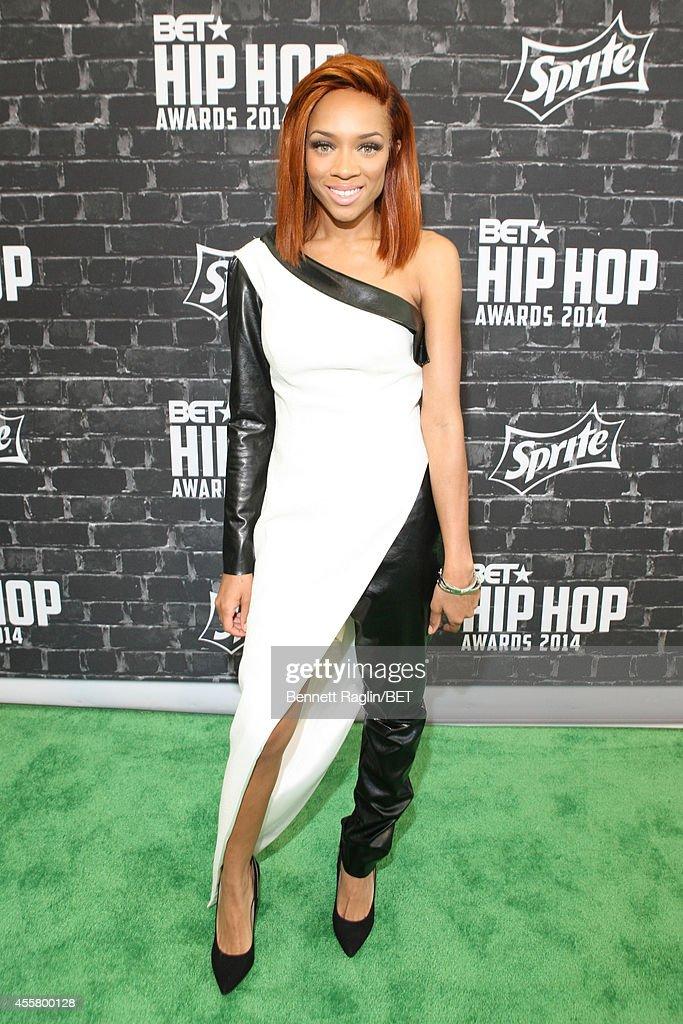 Artist Lil' Mama attends the BET Hip Hop Awards 2014 presented by Sprite at Boisfeuillet Jones Atlanta Civic Center on September 20 2014 in Atlanta...