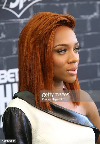 Artist Lil' Mama attends the BET Hip Hop Awards 2014 presented by Sprite at Boisfeuillet Jones Atlanta Civic Center on September 20 2014 in Atlanta...