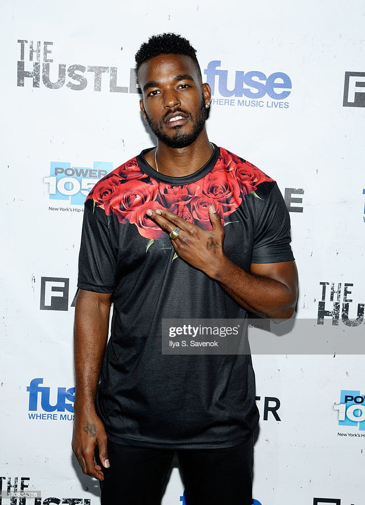 Artist Luke James attends Fuse's screening of 'The Hustle' at Converse Rubber Tracks Studio on June 18, 2013 in the Brooklyn borough of New York City.