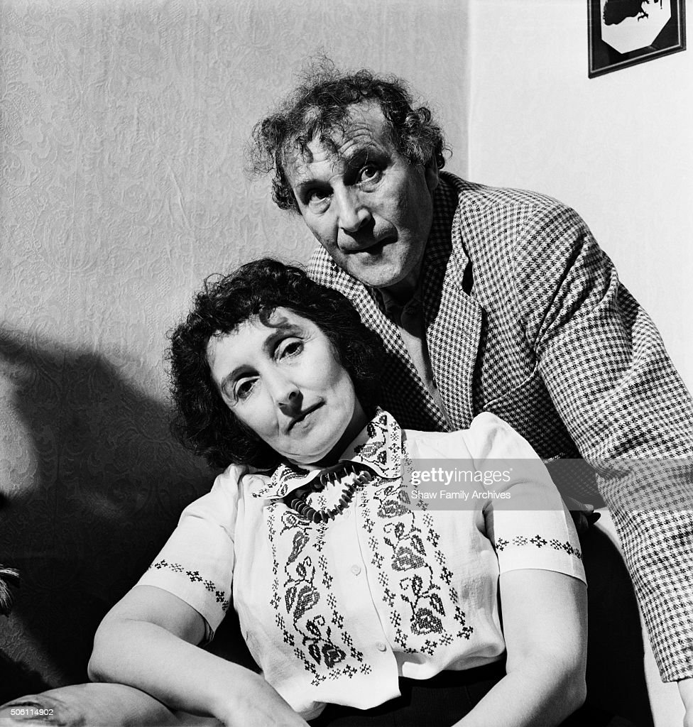 Artist <a gi-track='captionPersonalityLinkClicked' href=/galleries/search?phrase=Marc+Chagall&family=editorial&specificpeople=214176 ng-click='$event.stopPropagation()'>Marc Chagall</a> and his wife Bella Rosenfeld Chagall in 1944 in New York State.
