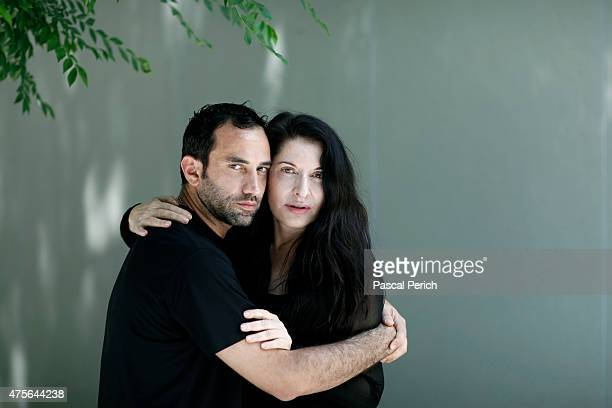 Artist Marina Abramovic and designer Riccardo Tisci are photographed for Financial Times on June 1 in New York City PUBLISHED IMAGE