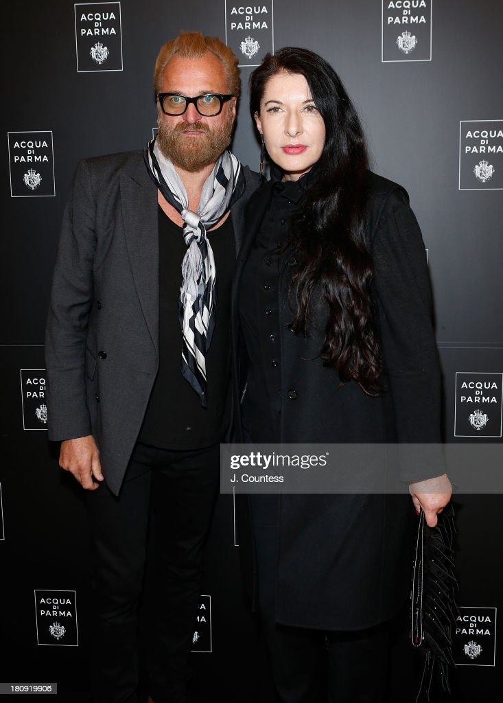 Artist <a gi-track='captionPersonalityLinkClicked' href=/galleries/search?phrase=Marina+Abramovic&family=editorial&specificpeople=2315598 ng-click='$event.stopPropagation()'>Marina Abramovic</a> (R) attends An Evening Of Dance Featuring Roberto Bolle And Friends at Manhattan Theatre Club at New York City Center on September 17, 2013 in New York City.