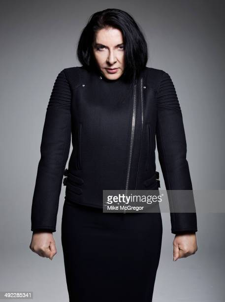 Artist Marina Abramovic is photographed for The Guardian Newspaper on April 17 2014 in New York City PUBLISHED IMAGE