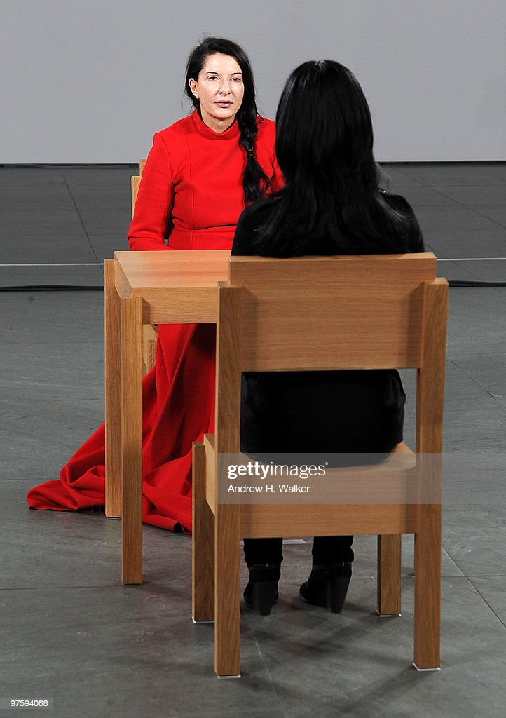 Lady gaga the abramovic method practiced by lady gaga