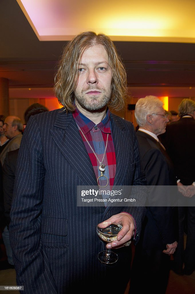 Artist Martin Eder attends the 'Soiree Francaise Du Cinema' at the French embassy on February 12, 2013 in Berlin, Germany.