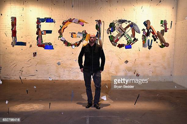 Artist Michael Murphy attends the FX's Legion WhereHouse at Villian on January 26 2017 in Brooklyn New York