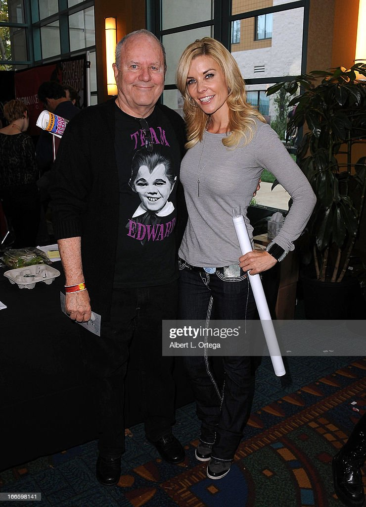 FX artist Michael Westmore and actress McKenzie Westmore attends 2013 Monsterpalooza held at The Burbank Marriott Hotel & Convention Center on April 13, 2013 in Burbank, California.