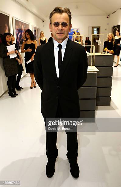 Artist Mikhail Baryshnikov attends Dancing Away photographic exhibition by Mikhail Baryshnikov at ContiniArtUK co hosted by Damiani on November 27...