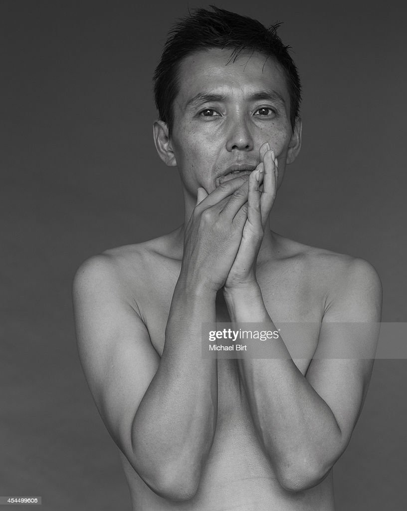 Artist Mira Kobayashi is photographed on October 17, 2014 in London, England.