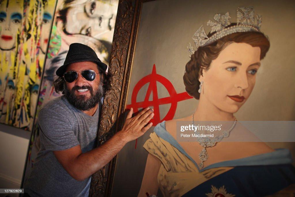 Graffiti Artist Mr Brainwash's First UK Exhibition