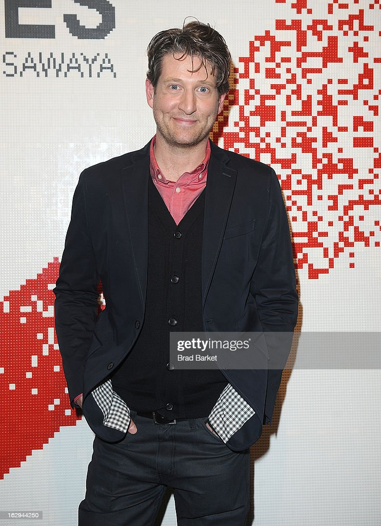 Artist Nathan Sawaya attends the In Pieces Exhibition Opening at Openhouse Gallery on March 1, 2013 in New York City.