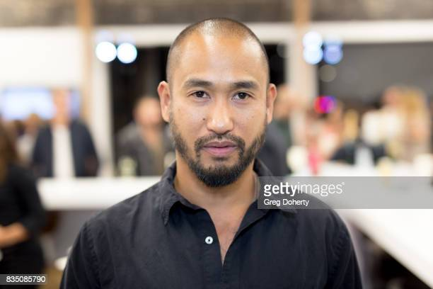 Artist Nathan Wong attends the Art Of Elysium 20th Anniversary Celebration at therethere on August 17 2017 in Los Angeles California