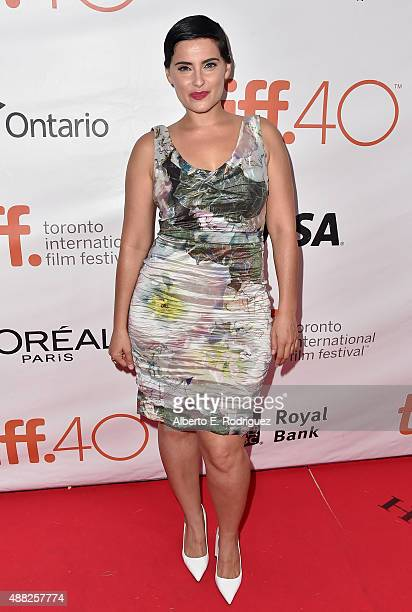 Artist Nelly Furtado attends the 'Hyena Road' premiere during the 2015 Toronto International Film Festival at Roy Thomson Hall on September 14 2015...