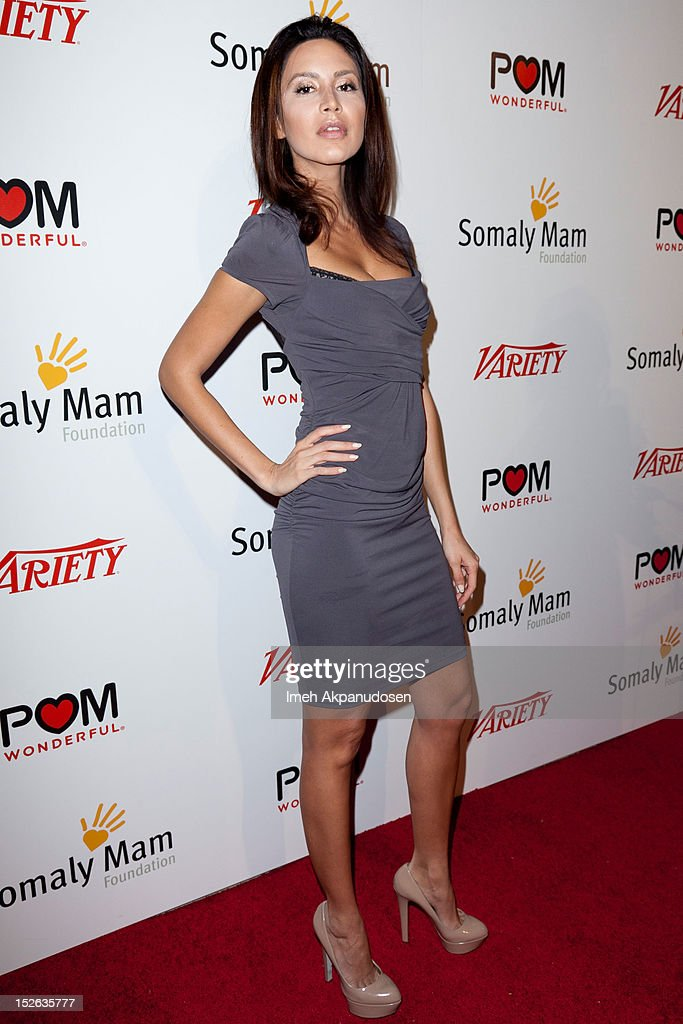Artist Niki Sabet attends a 'Life Is Love' event hosted by AnnaLynne McCord benefitting The Somaly Mam Foundation on September 22, 2012 in Los Angeles, California.