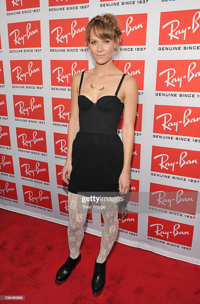 Artist Oh Land attends the Ray-Ban Aviator: The Essentials event at Music Hall of Williamsburg on May 12, 2010 in New York City.