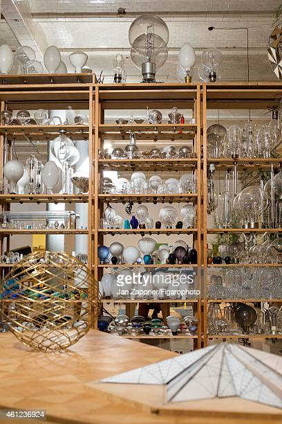 Artist Olafur Eliasson's 'Creative Lab' is photographed for Madame Figaro on November 19 2013 in Berlin Germany CREDIT MUST READ Jan...