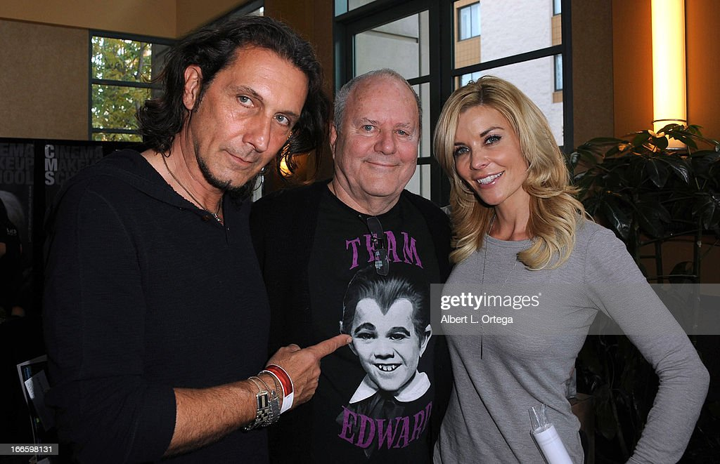 FX artist Patrick Tatopoulos, Fx artist Michael Westmore and actress McKenzie Westmore attends 2013 Monsterpalooza held at The Burbank Marriott Hotel & Convention Center on April 13, 2013 in Burbank, California.