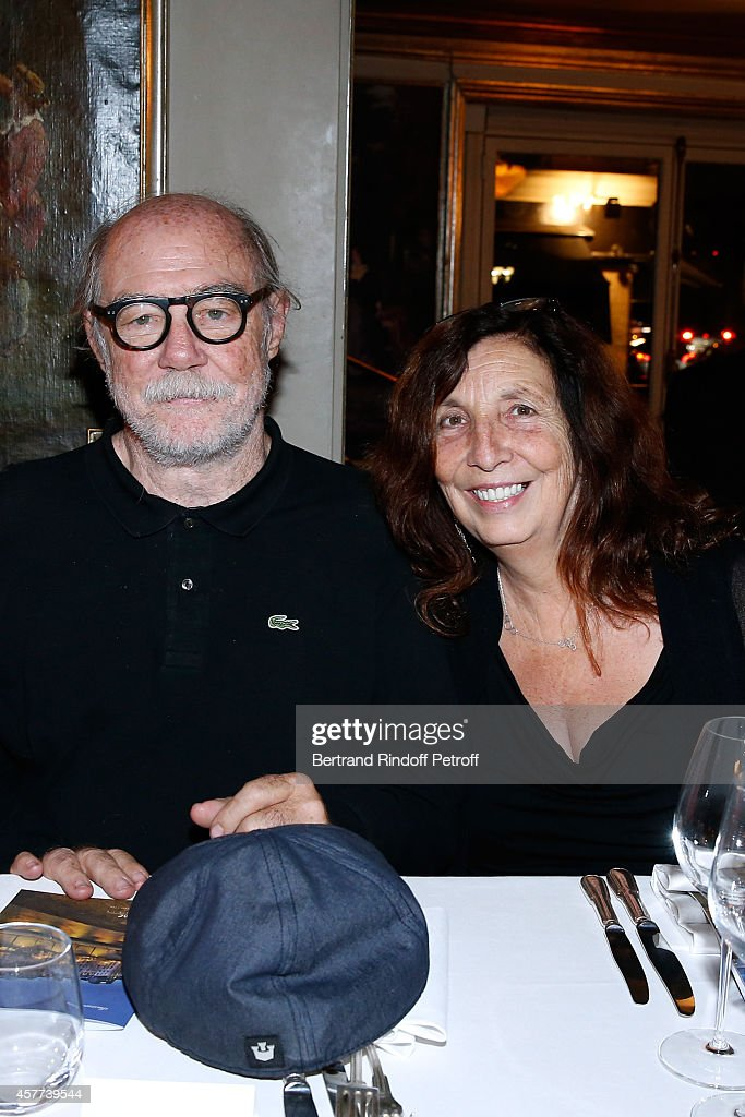 Artist <a gi-track='captionPersonalityLinkClicked' href=/galleries/search?phrase=Paul+McCarthy+-+Artist&family=editorial&specificpeople=13704720 ng-click='$event.stopPropagation()'>Paul McCarthy</a> and his wife Karen attend the Monnaie De Paris : Reopening Party with Opening of the McCarthy Exhibition - Dinner at Restaurant Laperouse, on October 23, 2014 in Paris, France.