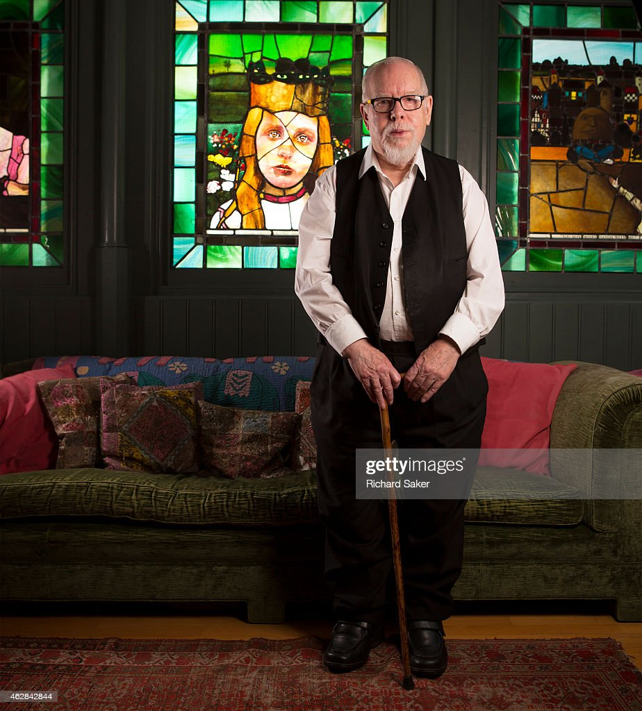 Artist <a gi-track='captionPersonalityLinkClicked' href=/galleries/search?phrase=Peter+Blake&family=editorial&specificpeople=239082 ng-click='$event.stopPropagation()'>Peter Blake</a> is photographed for the Observer on November 21, 2014 in London, England.