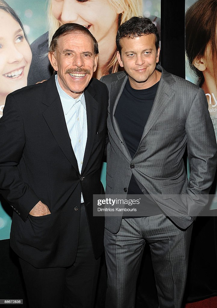 Artist Peter Max and composer Aaron Zigman attend the premiere of 'My Sister's Keeper' at the AMC Lincoln Square on June 24, 2009 in New York City.