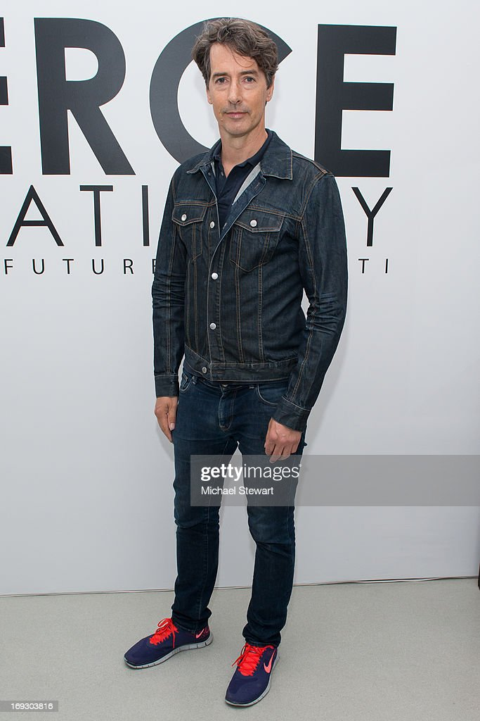 Artist Richard Phillips attends the Fierce Creativity Art Exhibition Reception at The Flag Art Foundation on May 22, 2013 in New York City.
