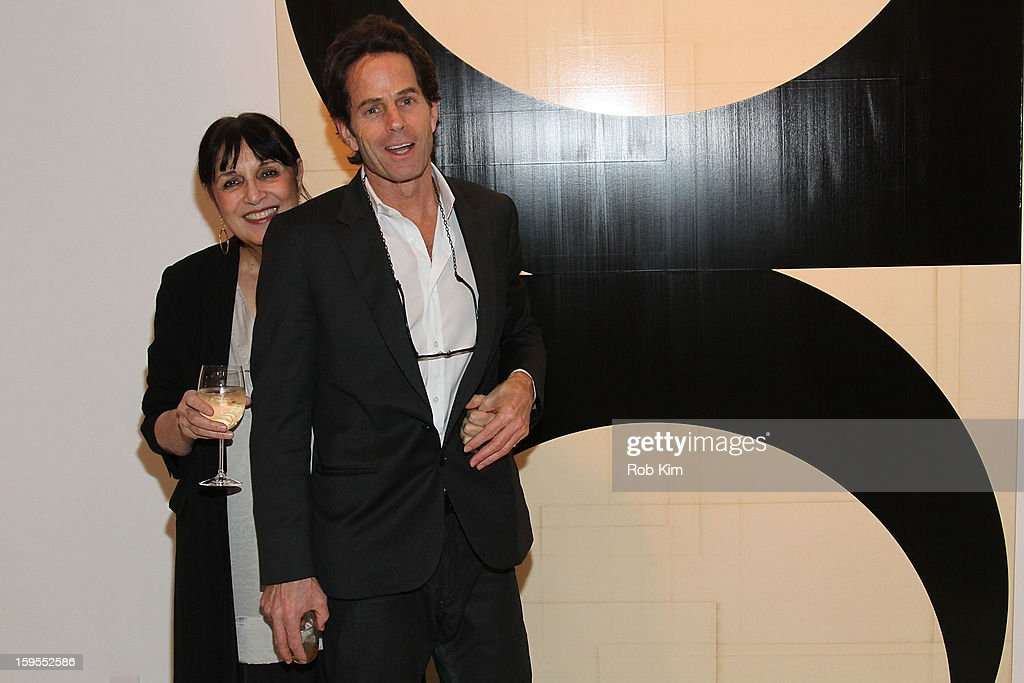 Artist Robert Kelly and photographer Shirine Gill attend An Intimate Evening With The Contemporary Patrons Of The Watermill Center at 210 East 5 Street on January 15, 2013 in New York City.