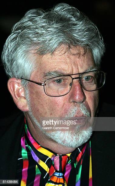 Artist Rolf Harris attends the press night of opening of the salsa musical 'Murderous Instincts' at The Savoy Theatre on October 7 2004 in London