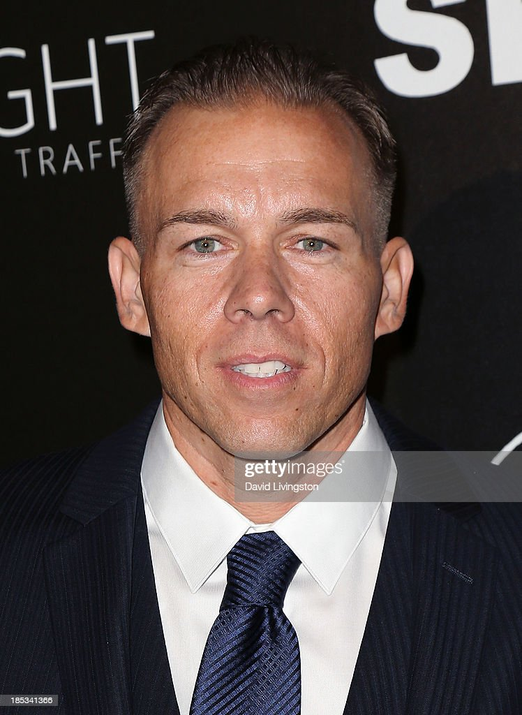 Artist Ronnie Watson attends the launch of the Redlight Traffic app at the Dignity Gala at The Beverly Hilton Hotel on October 18, 2013 in Beverly Hills, California.