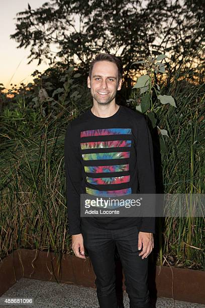 Artist Ryan McNamara attend the Anual Fundraising Event at Diller von Furstenberg Sundeck on September 16 2015 in New York City