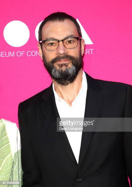 Artist Sam Durant attends the 2017 MOCA Gala at The Geffen Contemporary at MOCA on April 29 2017 in Los Angeles California